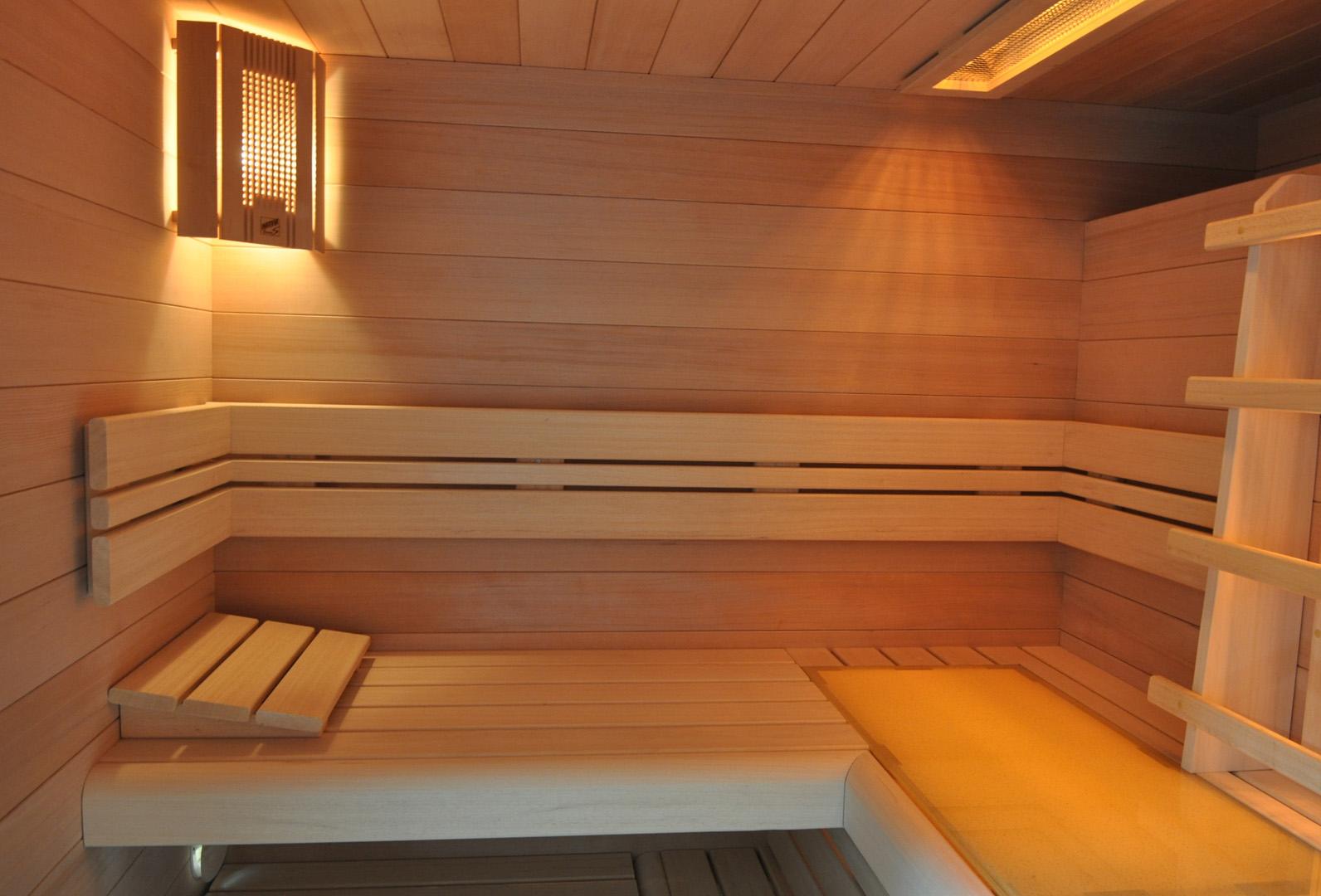Como hacer una sauna great madera para sauna madera - Construir una sauna ...